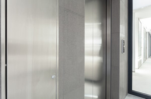 View Of Entry To Elevator In Business Building