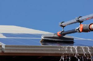 Solar Reinigung, Solarstrom